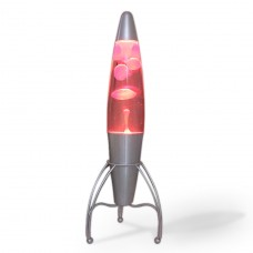 Luminária / Abajur - Lava Lamp / Lava Motion - Vermelha - 46 cm - 220V - Rocket - LMS-LV1040