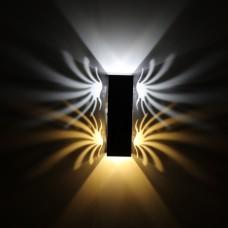 Luminária Arandela - Branco Quente + Branco Frio - 6 Watts - LMS-CH-111