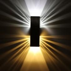 Luminária Arandela - Branco Frio + Branco Quente - 6 Watts - LMS-CH-08A
