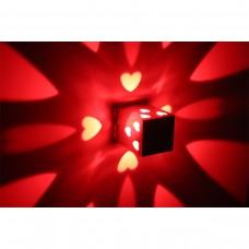 Luminária Arandela - Vermelho - 3 Watts - LMS-CH-113