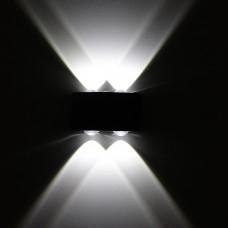 Luminária Arandela - Branco Frio - 4 Watts - Área Interna e Externa - LMS-CH-118