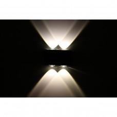Luminária Arandela - Branco Quente - 4 Watts - Área Interna e Externa - LMS-CH-118