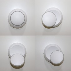 Luminária Arandela - Corpo Branco - Branco Frio - LMS-CH-131