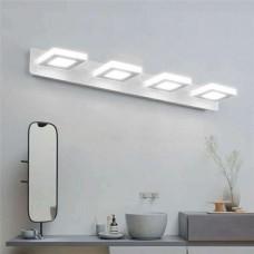 Luminária Arandela LED MultiFlash para Banheiro - 4 pontos de luz - 12W - 60 cm - LMS-CH-JQD03C12W