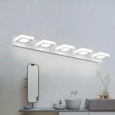 Luminária Arandela LED MultiFlash para Banheiro - 5 pontos de luz - 15W - 76 cm - LMS-CH-JQD03D15W