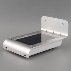 Luminária Solar de Parede com 16 LEDs - Resistente à Água - LMS-LS16RA