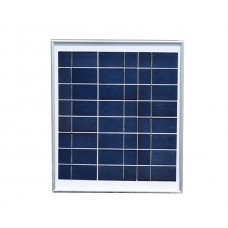 Painel / Placa / Célula Solar  10 watts - 9 volts - 10W - Monocristalina - LMS-PSMONO-10W