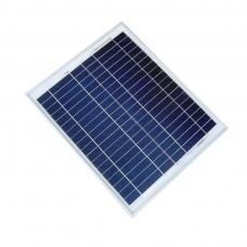 Painel Solar Monocristalino - 18V (Volts)  - 30W (Watts) - LMS-PSMONO-30W