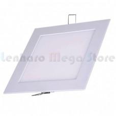 Painel Led de Embutir / Luminária Plafon / Downlight Ultra fino - 12W - Branco Frio - QUADRADO