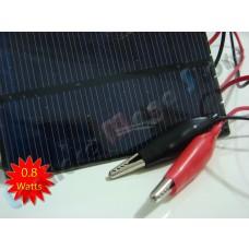 Painel / Placa / Célula Solar 0.8 watts - 5.5 volts - LMS-PS0.8W