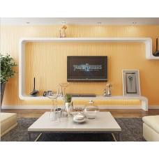 Papel de Parede Lavável - Amarelo Médio - Rolo com 10m x 53cm - LMS-PPY-YS05-Amarelo Médio (6318)