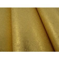 Papel de Parede Lavável Dourado Escovado - Rolo com 10m x 53cm - LMS-PPY-08051