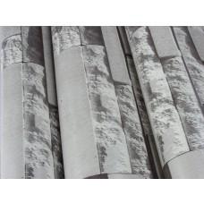 Papel de Parede Lavável - Lindo desenho  Cinza com cinza escuro - Rolo com 10m x 53cm - LMS-PPD-959011