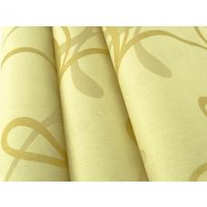 Papel de Parede Lavável - Lindo desenho Creme com Dourado - Rolo com 10m x 53cm - LMS-PPY-YWJ03-1