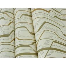 Papel de Parede Lavável - Lindo desenho Creme com detalhes Cobre - Rolo com 10m x 53cm - LMS-PPY-YWJ02-2