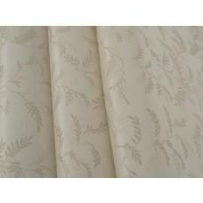 Papel de Parede Lavável - Lindo desenho Creme com detalhes em Bege- Rolo com 10m x 53cm - LMS-PPY-121105