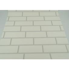Papel de Parede - Branco - Rolo com 10m x 53cm - LMS-PPY-86105