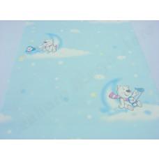 Papel de Parede - Lindo desenho - Rolo com 10m x 53cm - LMS-PPY-YWC7-LJ1103 - Azul - (091103) - Infantil