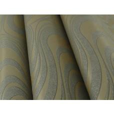 Papel de Parede - Lindo desenho Cobre com detalhes Cinzas - Rolo com 8,4m x 70cm - LMS-PPY-YW99-162039