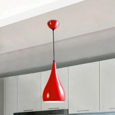 Pendente em Alumínio com Soquete E27 - Vermelho - LMS-CD-D16-R
