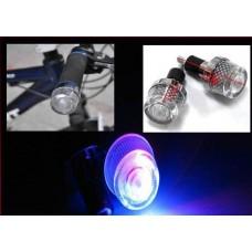 Par de Sinalizador LED pra Guidão de Bicicleta com Leds - BarHand - LMS-PPL-BH