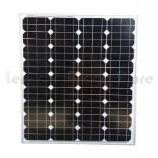 Painel / Placa / Célula Solar 80 watts - 18 volts - 80W - Monocristalina