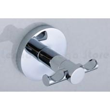 Porta Toalha Gancho / Toalheiro em Metal Cromado - Acabamento Redondo  - LMS-AB9504