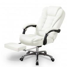 Cadeira para Escritório Giratória com apoio para os pés Big Boss - Branca - LMS-BY-8436-T3