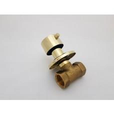 Registro de Metal / Registro de Pressão com Acabamento Dourado - Redondo - LMS-BM311G-R