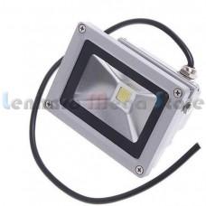 Refletor / Holofote Led Branco Frio 50W - Bivolt - A prova dágua - LMS-R50W