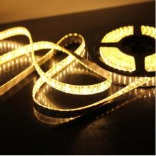 Fita LED Branco Quente (3528)  - IP65 (Resistente a água) - 60 leds por metro - Rolo com 5 metros