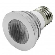Lâmpada / Spot Led E27 Spot RGB - 2 milhões de cores - 120 níveis de iluminação - 5 watts - bivolt