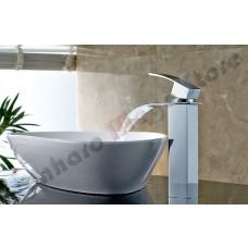 Torneira para Banheiro com Bica para cuba elevada, Monocomando com Misturador - Alta - LMS-1226
