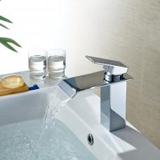 Torneira para Banheiro com Bica, Monocomando com Misturador - LMS-1229