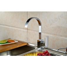 Torneira para Cozinha, com giro de 360 graus - Monocomando com Misturador - LMS-LH8004