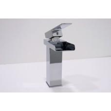 Torneira para Banheiro Cromada, Misturador com Monocomando - LMS-XDL-T518