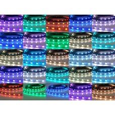 Kit Fita LED RGB 5050 (150 leds) com 5 (cinco) metros (IP20) + Controle + Controlador com 24 teclas + Fonte