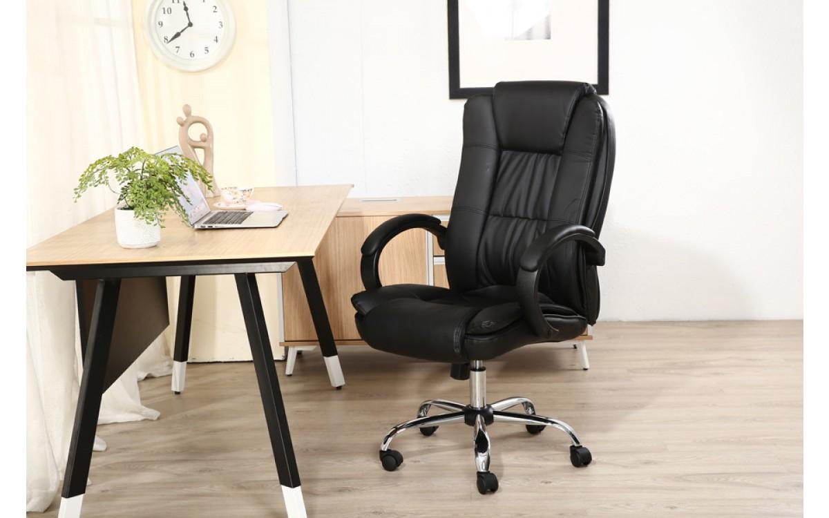 Cadeira Presidente Giratória Almofadada Confortável