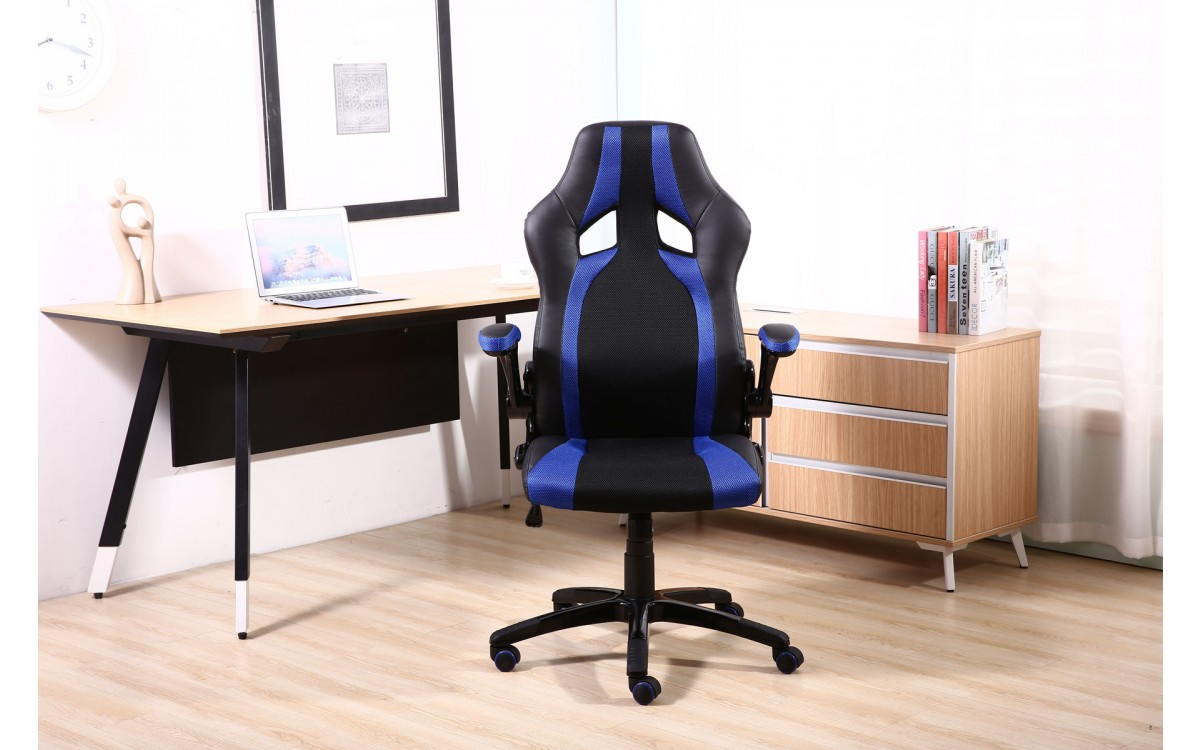 Cadeira Racing Azul Lenharo
