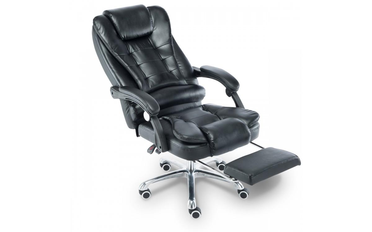 Cadeira para Escritório, com apoio para os pés - Resistente e linda